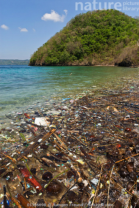 Coastal pollution, Philippines, May 2006  ,  COASTS,coral triangle,ENVIRONMENTAL,INDO-PACIFIC,LANDSCAPES,POLLUTION,REFUSE,rubbish,SOUTH-EAST-ASIA,VERTICAL,WWF,PHILIPPINES,,Waste,Environment,Environmental Issues,Environmental Damage,Littering,Marine Pollution,  ,  Jurgen Freund