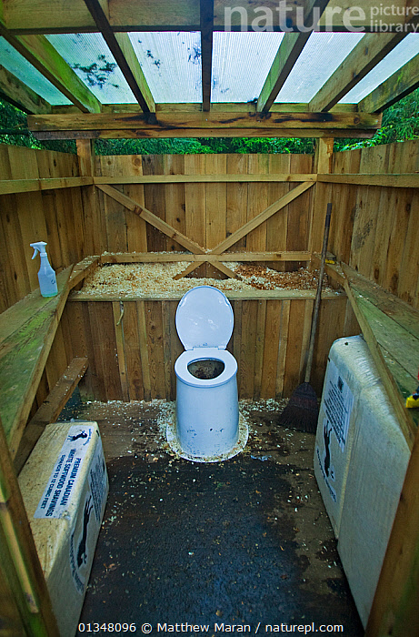 A toilet cubicle in a wooden shelter. The West Coast Trail, Pacific Rim National Park, Vancouver Island, Canada, September 2010.  ,  BRITISH COLUMBIA,CANADA,ECOTOILETS,NORTH AMERICA,NP,RESERVE,SANITATION,TOILETS ,VANCOUVER,VERTICAL,WEST CANADA,National Park  ,  Matthew Maran