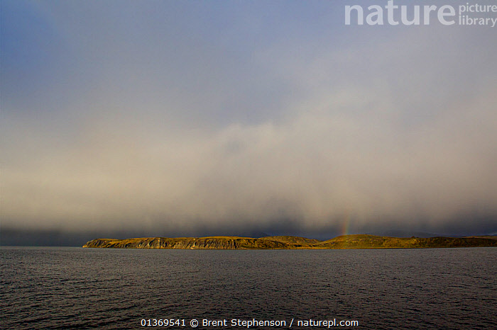 Clouds cloaking the shore of the Beagle Channel, Tierra del Fuego Archipelago, South America, December.  ,  ALONE,AMERICA,ATMOSPHERIC,CLOUDS,COASTS,LANDSCAPES,PATAGONIA,SEASCAPES,SOUTH AMERICA,TIERRA DEL FUEGO,WEATHER,SOUTH-AMERICA  ,  Brent Stephenson