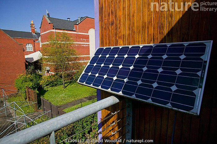 Photovoltaic cells to convert sunlight into electricity, Swansea Environmental Centre, Wales, UK 2009  ,  BUILDINGS,CITIES,COMMUNITY,ENERGY,ENVIRONMENTAL,EUROPE,INNOVATIVE,MANMADE,MODERN,NEW,PANELS,SOLAR,SOUTH WALES,SUNLIGHT,UK,URBAN,WALES,United Kingdom  ,  David Woodfall