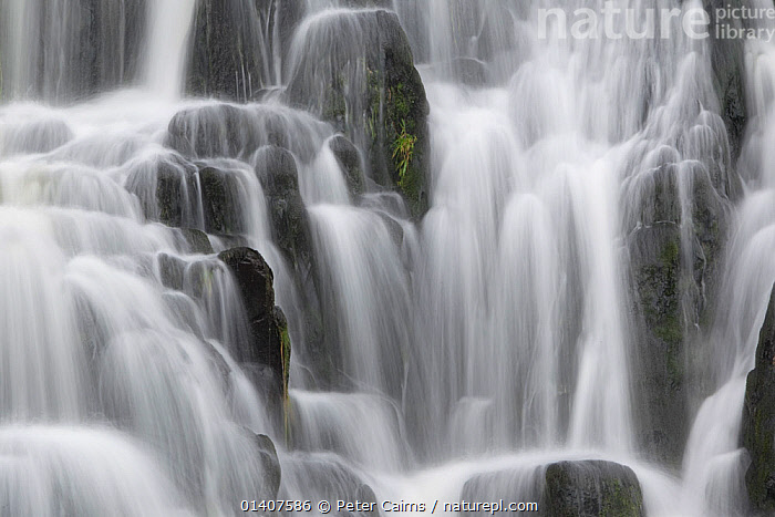 Bridal Falls, Portree, Skye, Scotland, UK  ,  EUROPE,FRESHWATER,ROCKS,SCOTLAND,SPRAY,UK,WATER,WATERFALLS,United Kingdom , Inner Hebrides  ,  Peter Cairns