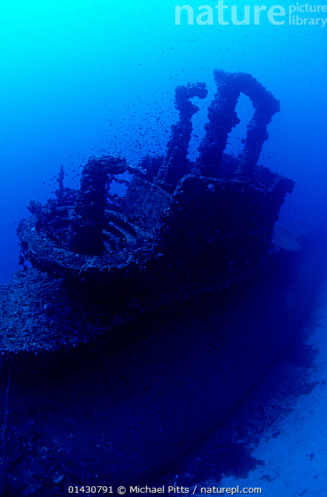 British S Class submarine 'HMS Stubborn' conning tower, Buggiba, Qawara Point. Malta., BOATS,EUROPE,MALTA,MARINE,NAVAL,TROPICAL,UNDERWATER,VERTICAL,WORKING BOATS,WRECKS, Michael Pitts