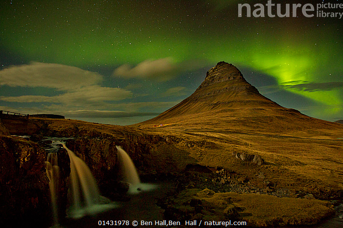 Aurora Borealis display over mountains at night, West Icelend, January 2013, ARCTIC,EUROPE,GREEN,ICELAND,LANDSCAPES,LIGHTS,MOUNTAINS,NIGHT,northern lights,SKIES,SKY,catalogue6,AURORA BOREALIS,Magic,Magical,Mystery,Mysterious,Colour,Yellow,No One,Nobody,Europe,Northern Europe,North Europe,Nordic Countries,Scandinavia,Iceland,Photographic Effect,Mountain,Light,Lights,Sky,Weather,Meteorology,Aurora,Auroras,Aurora Borealis,Northern Lights,Landscape,Landscapes,Outdoors,Open Air,Outside,Winter,Night,Lit Up, Ben Hall,Ben  Hall