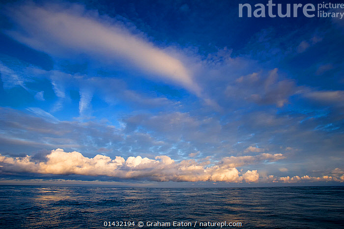 A view over the sea at from Cardigan Bay, Wales, November 2012  ,  LANDSCAPES,SEASCAPES,THE SEA,UK,WEATHER,CLOUDS,COASTAL WATERS,DAWN,EUROPE,IRISH SEA,SKIES,SKY,WALES,United Kingdom  ,  Graham Eaton