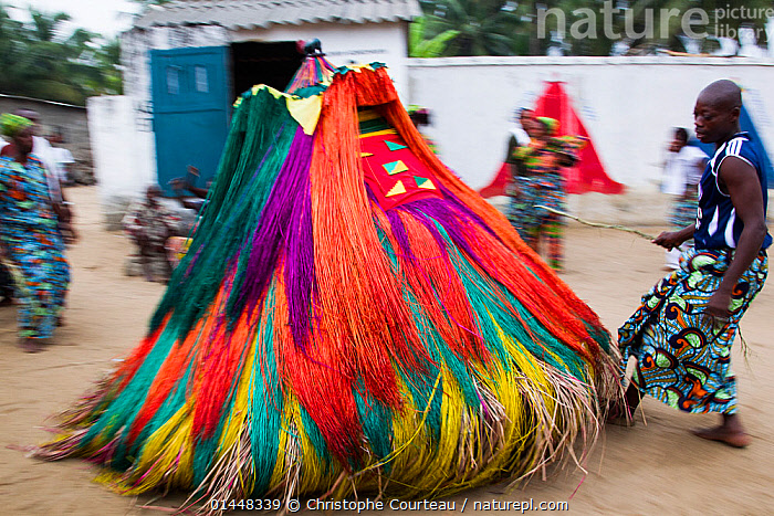 Nature Picture Library - 'Zangbeto' traditional voodoo