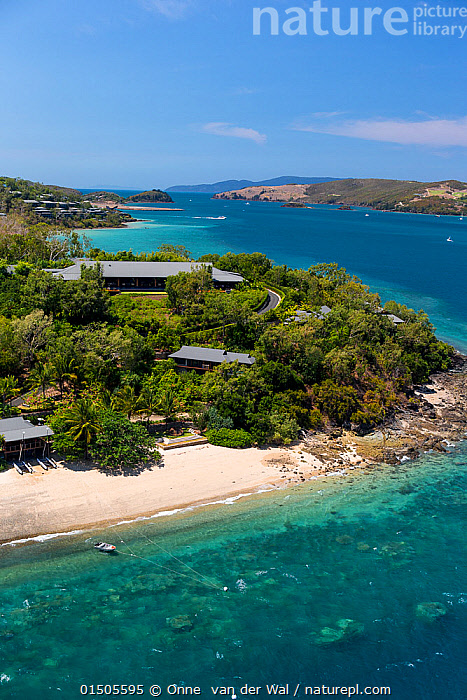 Nature Picture Library Aerial View Of Qualia Luxury Resort
