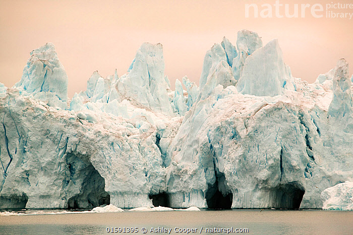 Icebergs from the Jacobshavn glacier or Sermeq Kujalleq, Greenland, July 2008., Greenland,icesheet,ice sheet,inland ice,ice sea,frozen,cold,north,Arctic,glacier,glaciation,weather,climate,global warming,climate change,melt,melting,melt water,meltwater,summer,sea level rise,meteorology,study,science,ancient,remote,challenge,ice surface,surface melting,warming,temperature,rising temperature,affect,liqued,positive feedback,Greenland ice sheet,interior,blue,sky,warm,sun,sunny,heat,energy,thermal,thermodynamics,albedo,reflection,suns energy,surface,Jacobshavn glacier,jacobshavn isbrae,ice fjord,Sermeq Kujatdleq,Sermeq Kujalleq,glacier speed,largest,ice berg,iceberg,Ilulissat,massive,huge,big,large,cave,ice cave,,,,, Ashley Cooper