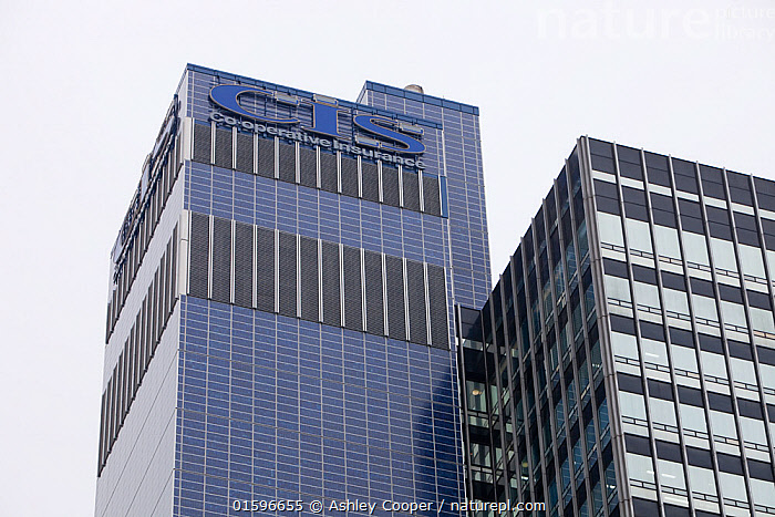 The Cooperative Insurance tower block, covered in Solar electric panels. England, UK, Manchester, January 2010  ,  urban,city,Manchester,UK,tower block,office,office block,architecture,development,construction,glass,roof,renewable energy,global warming,climate change,electricity,energy generation,urban renewal,Coop,Cooperative,solar,solar energy,solar panel,Solar tower,voltaic,solar voltaic,,,Environment,Environmental Issues,Power supply,Sustainable power,Energy,Solar power,  ,  Ashley Cooper