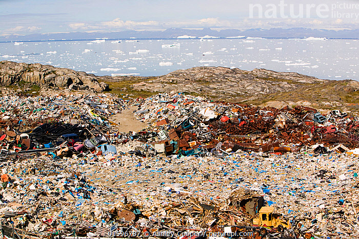 Rubbish dumped on the tundra outside Illulissat, Illulissat ice fjord Unesco World Heritage Site, Greenland, July 2008  ,  climate change,global warming,polluted,pollution,cantaminated,contamination,waste,abandoned,tip,tipping,refuse,trash,garbage,Greenland,Arctic,Illulissat,rubbish,rubbish dump,garbage dump,contrast,Unesco world heritage site,landscape,iceberg,coast,sea,arctic ocean,summer,Illulissat ice fjord,sermeq kujalleq,abuse,landfill,environment,environmental,,,Waste,Environment,Environmental Issues,  ,  Ashley Cooper