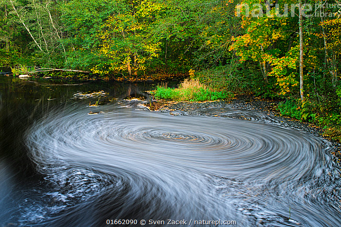 A vortex of foam and autumn leaves on Ohne river in Valgamaa county, Southern Estonia.  ,  Europe,Eastern Europe,East Europe,Baltic Countries,Estonia,Photographic Effect,Blurred Motion,Blurred Movement,Long Exposure,Flowing Water,River,Whirlpool,Eddies,Eddy,Whirlpools,Autumn,Freshwater,Water,Arty shots,Valga County,Valgamaa,  ,  Sven Zacek