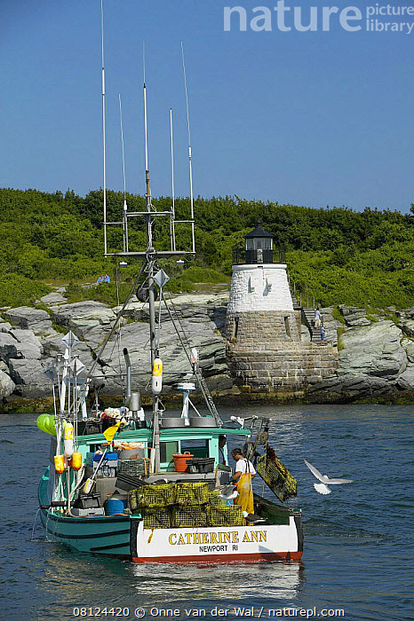 Nature Picture Library - Lobster boat