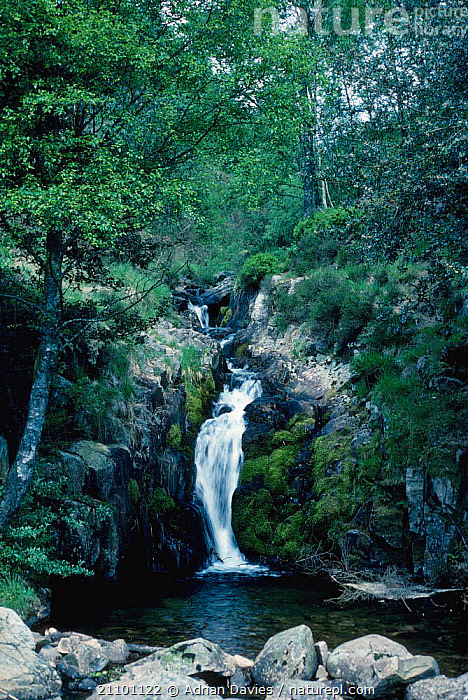 Upland waterfall at Smithy Beck Ennerdale Lake District National Park UK, STREAMS,ROCKS,WATERFALLS,LANDSCAPES,EUROPE,NP,RESERVE,RIVERS,NATIONAL PARK,ENGLAND, Adrian Davies