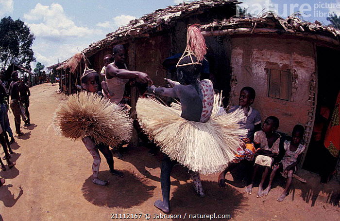 Dancing boy at Kumbe ceremony circumsion ritual Epulu Ituri RR Dem Rep Congo  ,  BUILDINGS,PEOPLE,TRADITIONAL,VILLAGES,TRIBES,LANDSCAPES,Africa , Bruce Davidson  ,  Jabruson