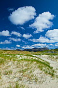 Traigh Uuige sand dunes, Androil Beach, Lewis, Outer Hebrides, Scotland, UK, June 2009 - Wild Wonders of Europe / Muñoz