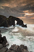 Rock archway at sunset, Isle of Lewis, Outer Hebrides, Scotland, UK, September 2014. - SCOTLAND: The Big Picture