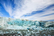 Russells Glacier with calved ice and meltwater, Greenland, July 2008. - Ashley Cooper