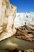 Melt water from the Russells Glacier, Greenland, July 2008. - Ashley Cooper