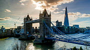 Timelapse of traffic crossing Tower Bridge, London, England,UK, May 2016. (This image may be licensed either as rights managed or royalty free.) - Gavin Hellier